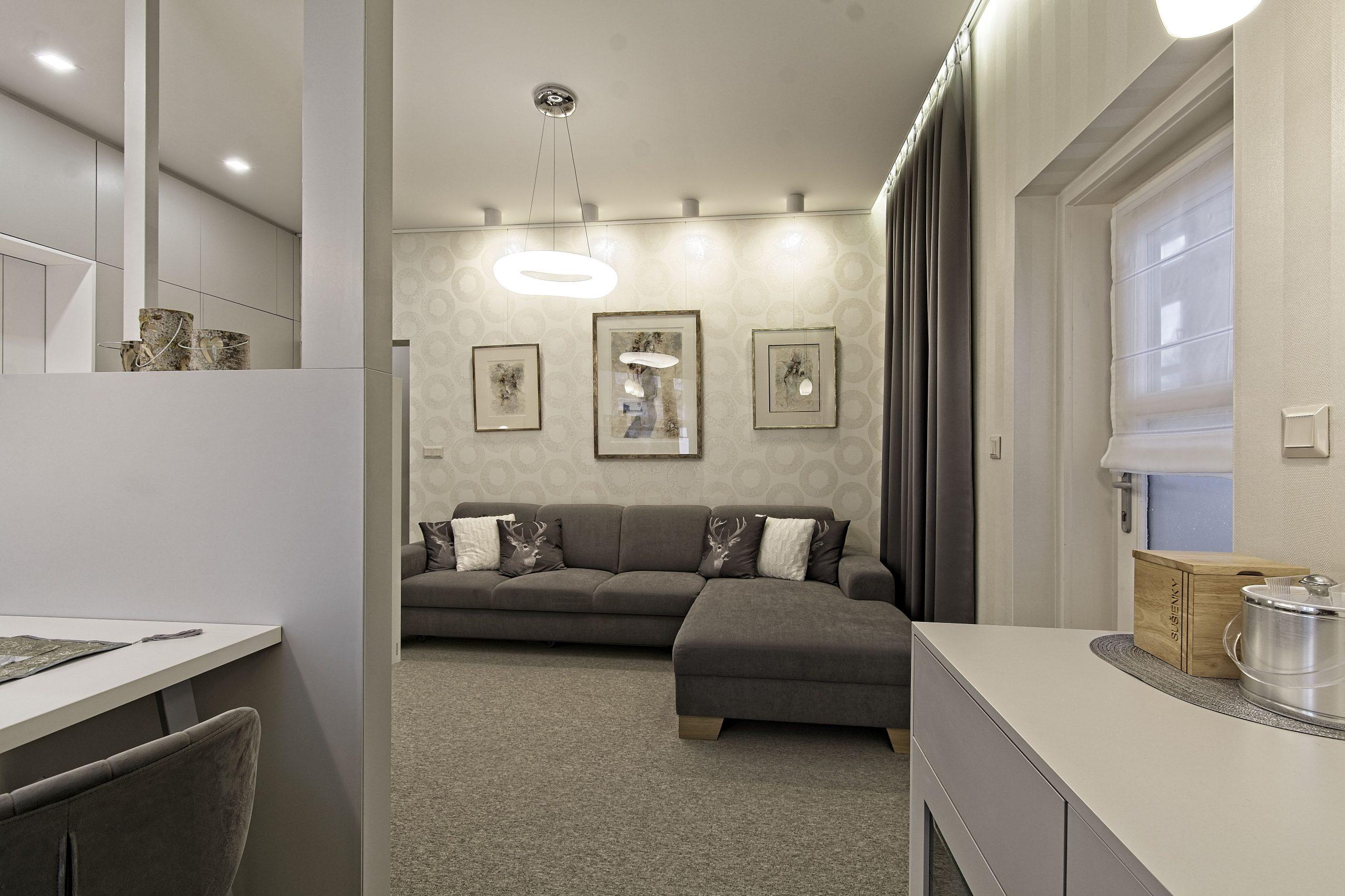Apartmány Tatry, bar v obývačke
